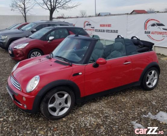"""Mini Cooper !! Mini Cooper !! 2005  adusă recent din Germania, se pot verifica accidentele și km mașinii (apăsând butonul """"Verifică""""), rulată foarte puțin, cutie de viteză Manuala, Euro 4. Oferit de Companie."""